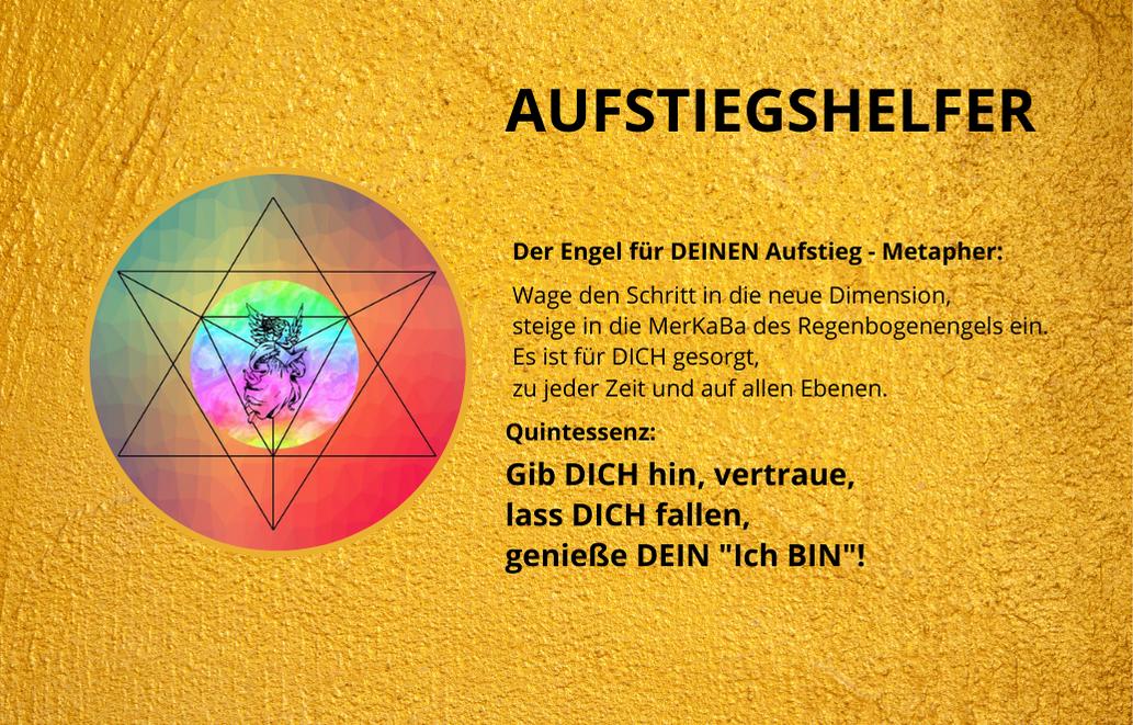 AUFSTIEGSHELFER - Energiekärtchen-Querformat